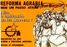 1976 Cartaz número: 16 3º aniversário Em luta pela liberdade Partido Popular Democrático (PPD) 7 de Maio de 1977 Card number: 15 Workers rostrum (speak out) Union newspaper Unity One contract!