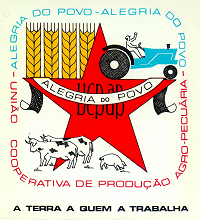 number: 18 Support land reform Signature campaign Against repression Repeal the Barreto Law Sign because land reform is your bread Portuguese Communist Party 1977 Cartaz número: 19 Com a reforma