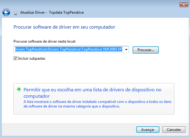 Manual de Instruções TopPendrive - MP07301-01 Rev 06-03/05/2010 PG -