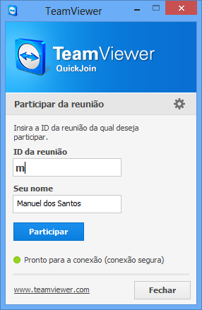Módulos do TeamViewer 5.