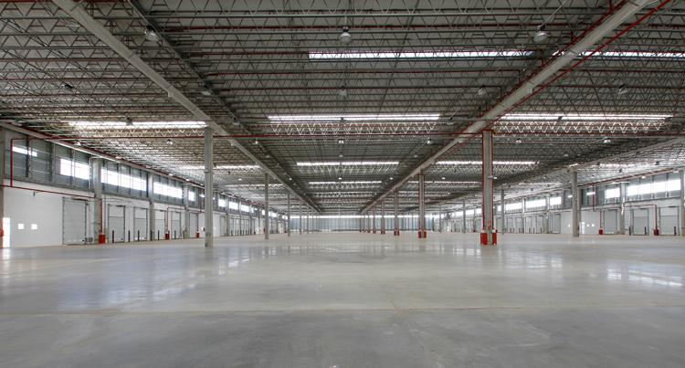 Eficiência Operacional do Galpão Fontes Alternativas de Energia Entregue com Sprinklers Categoria J4