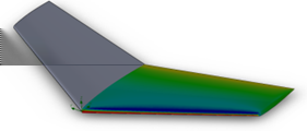 SOLIDWORKS Flow Simulation Em Cut plots and Surface Plots, selecione Mirror results.