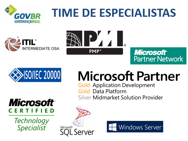 Time de Especialistas GOVBR A GOVBR disponibiliza um time de