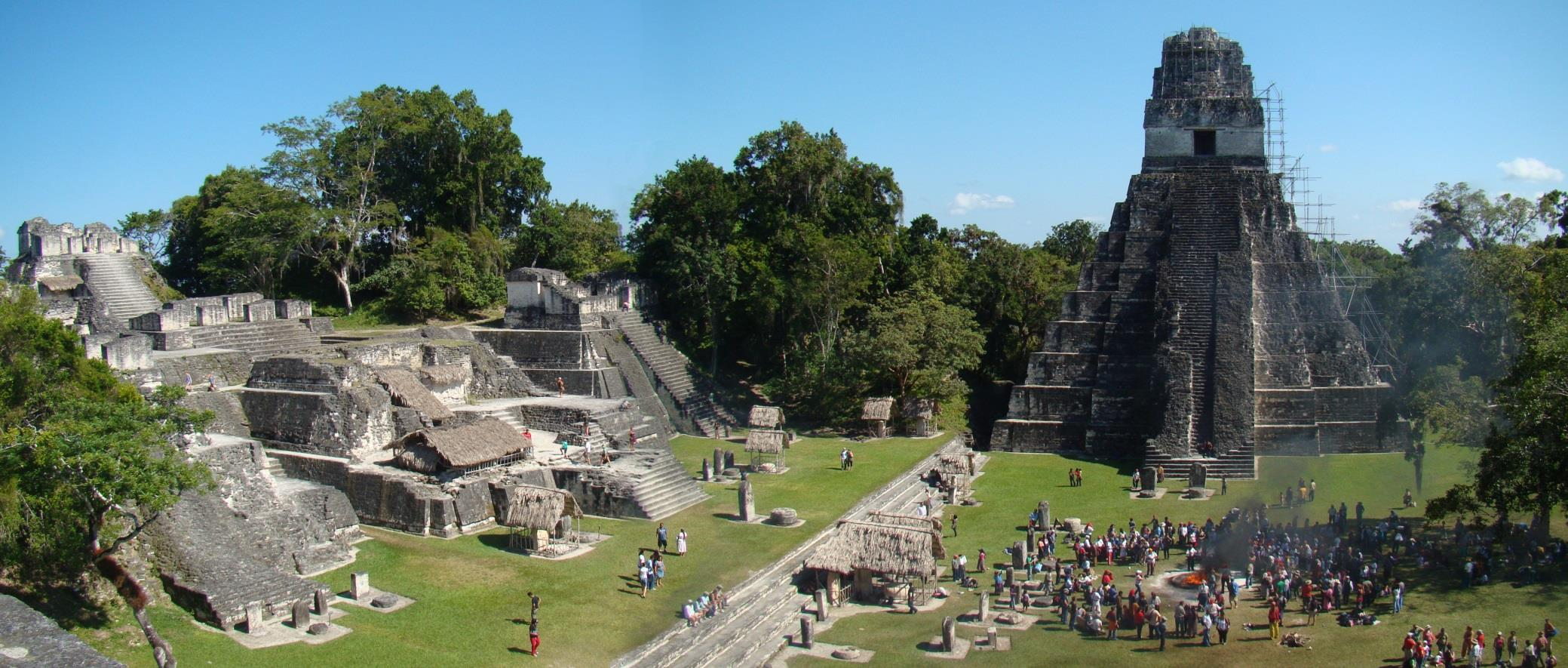Plaza Tikal - http://upload.wikimedia.