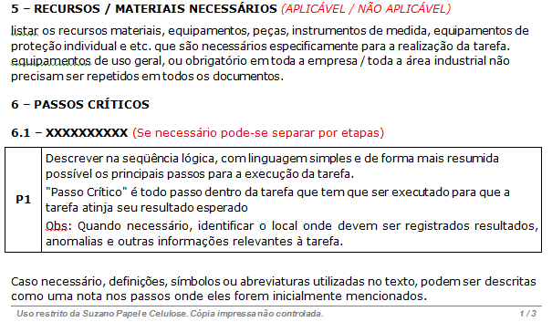 EXEMPLO DIDÁTICO S Standard