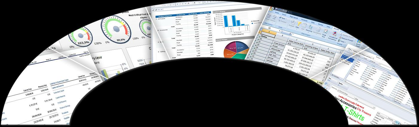 SAP Business Objects Dashboards Dashboards Crystal Reports Crystal Reports Web OLAP
