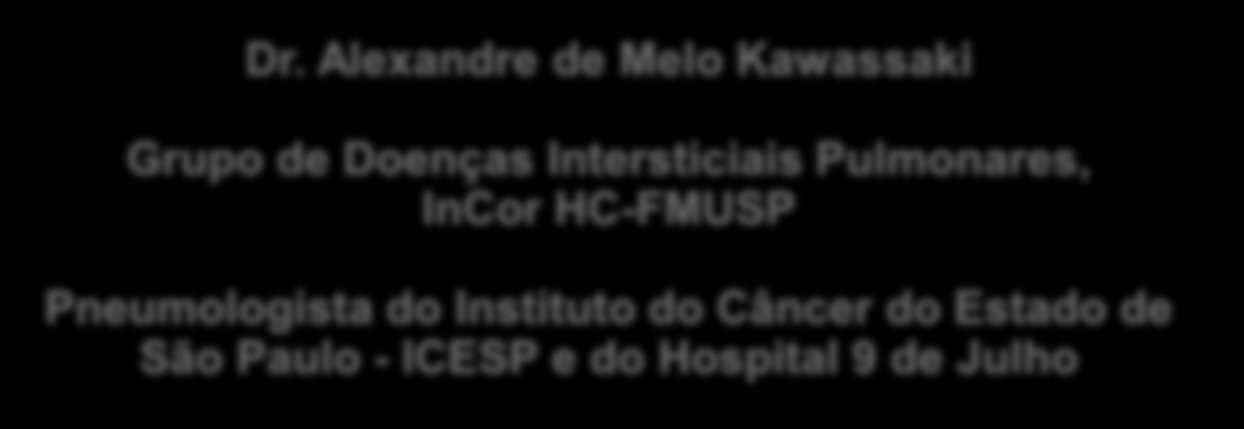 Intersticiais Pulmonares, InCor HC-FMUSP