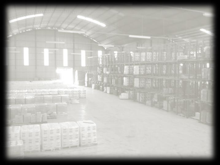 LOGISTICS WAREHOUSE CAPACITY Floor Positions 2.