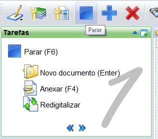 IRISPowerscan TM - Guia do Usuário Para digitalizar documentos: Insira os documentos no alimentador do scanner.