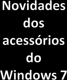 Acessórios do Windows XP e