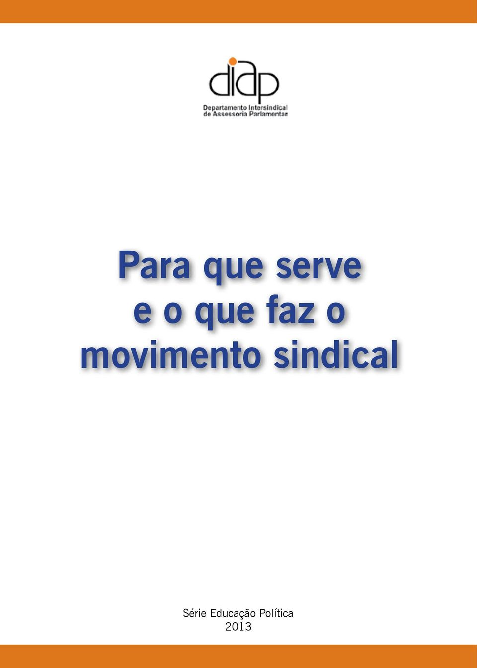 movimento sindical