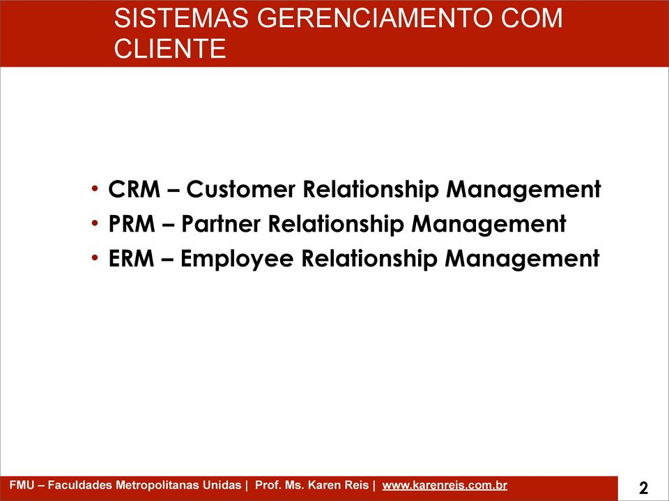 PRM Partner Relationship Management