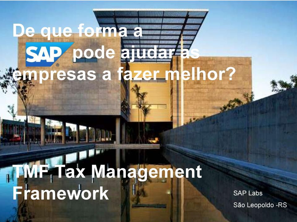 TMF Tax Management