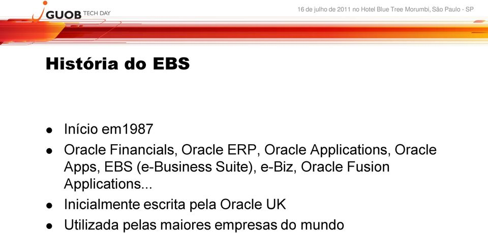 Suite), e-biz, Oracle Fusion Applications.