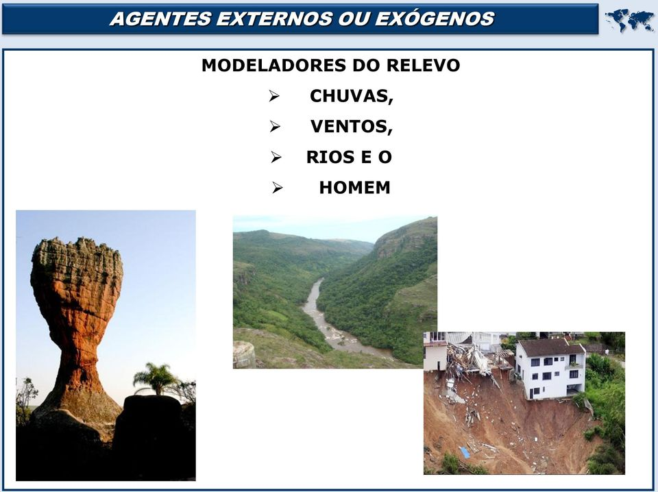 DO RELEVO CHUVAS,