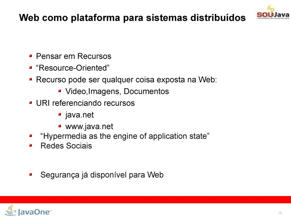 Video,Imagens, Documentos URI referenciando recursos java.