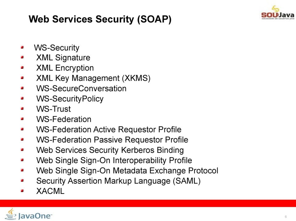 WS-Federation Passive Requestor Profile Web Services Security Kerberos Binding Web Single Sign-On