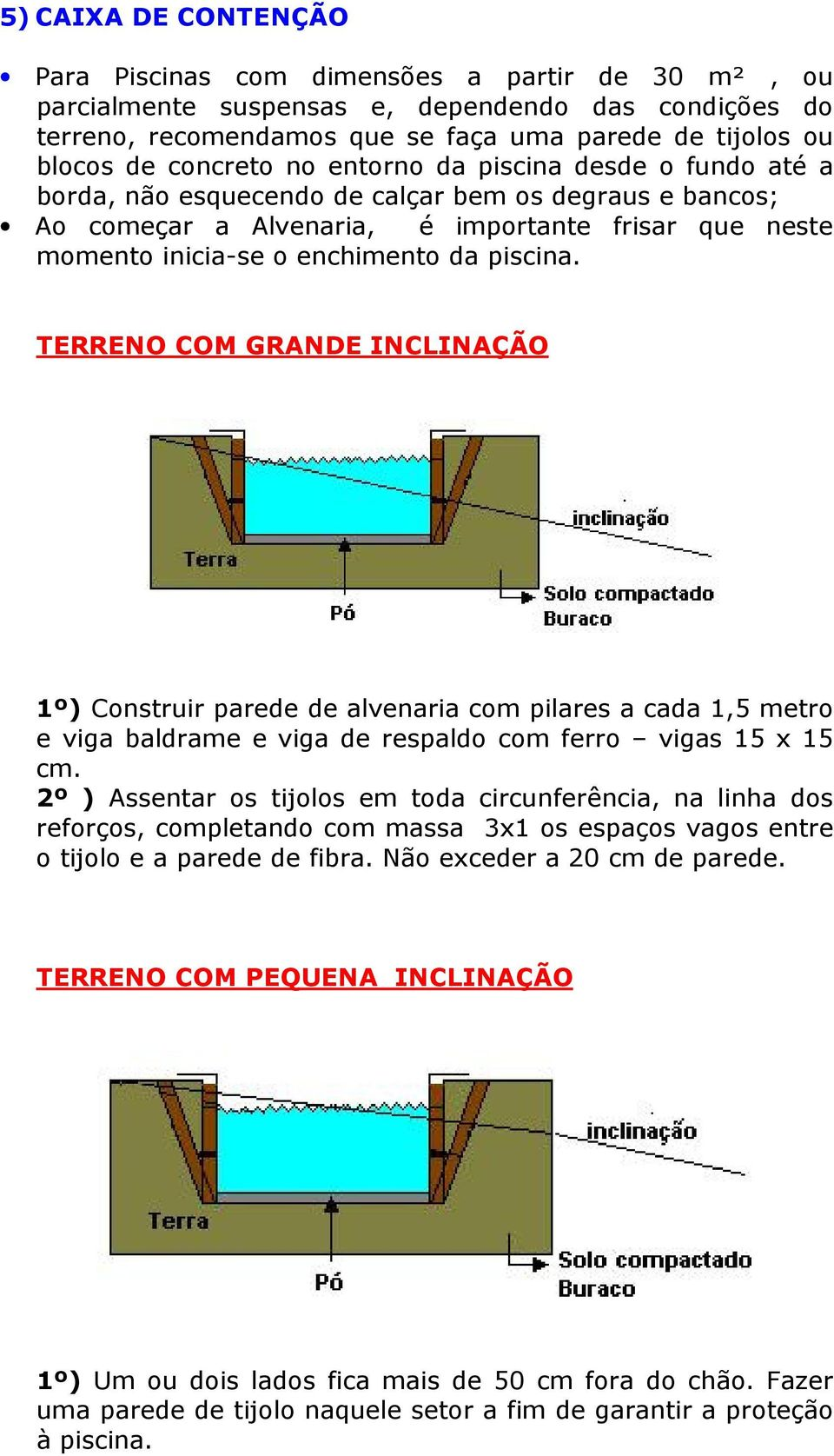 Piscina fibra manual de instala o pdf for Manual de construccion de piscinas pdf