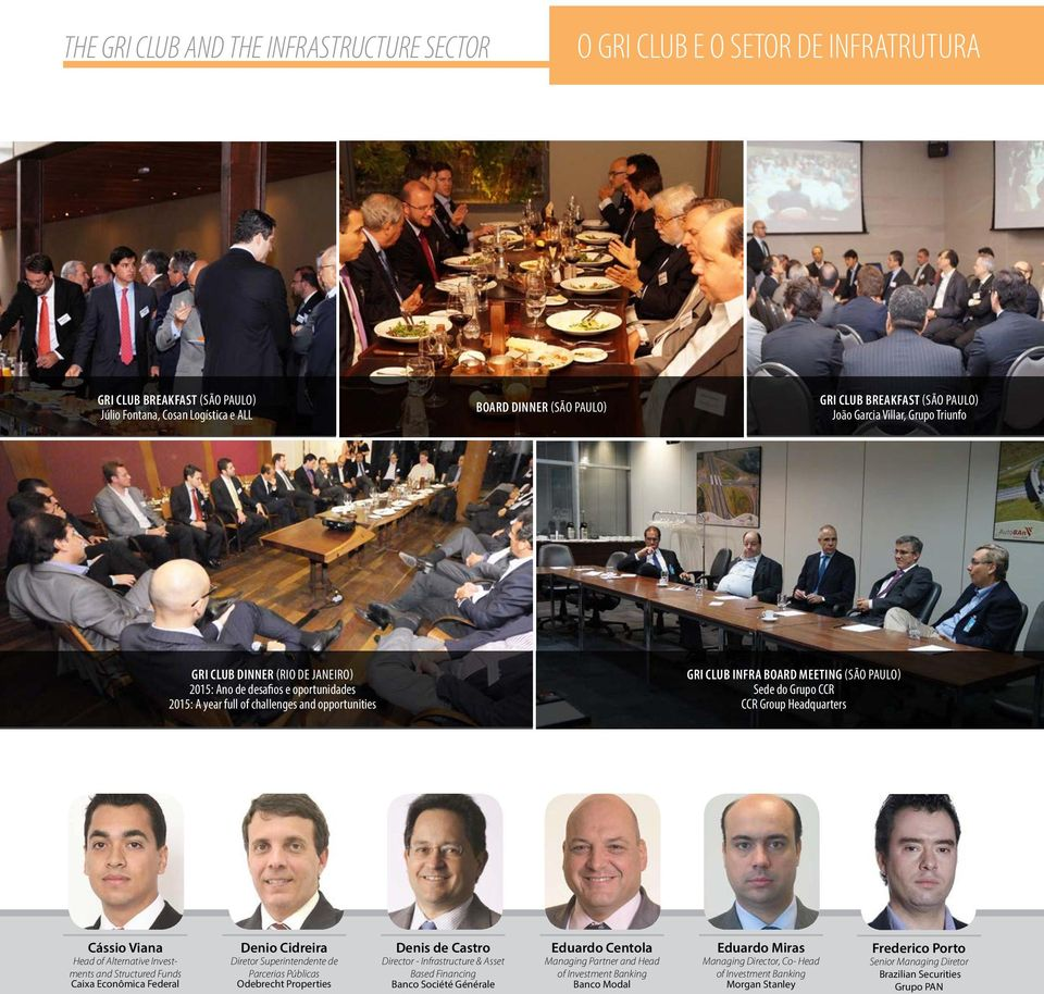 PAULO) Sede do Grupo CCR CCR Group Headquarters Cássio Viana Head of Alternative Investments and Structured Funds Caixa Econômica Federal Denio Cidreira Diretor Superintendente de Parcerias Públicas