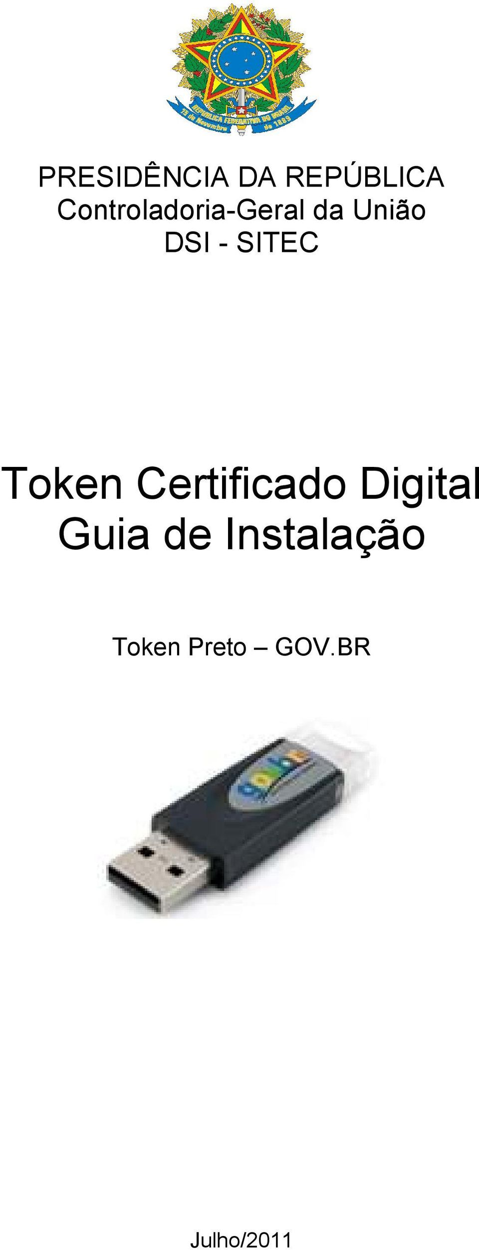 SITEC Token Certificado Digital