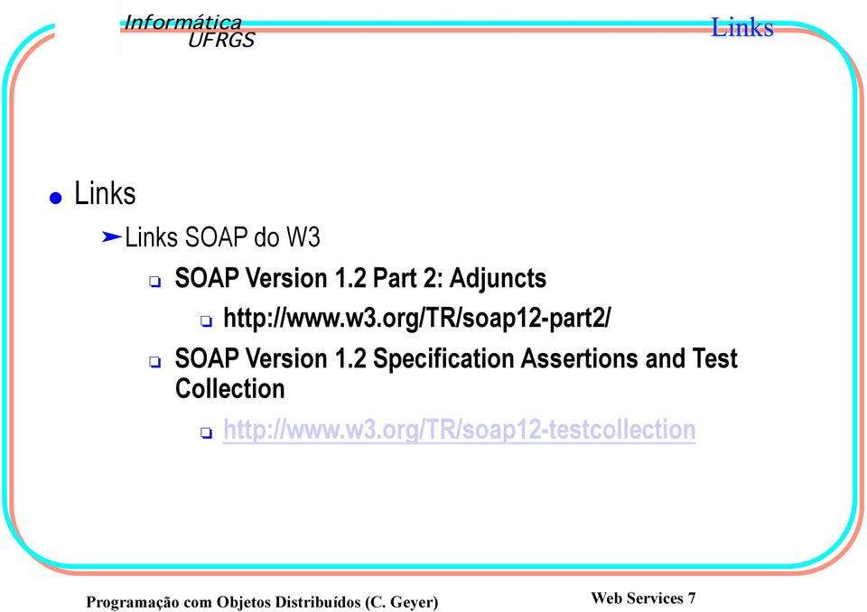 org/tr/soap12-part2/ SOAP Version 1.