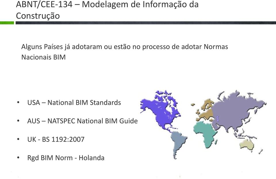 Normas Nacionais BIM USA National BIM Standards AUS