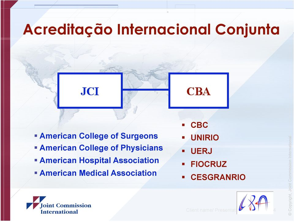 Association American Medical Association CBC UNIRIO UERJ