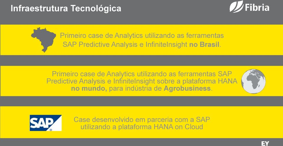 Primeiro case de Analytics utilizando as ferramentas SAP Predictive Analysis e