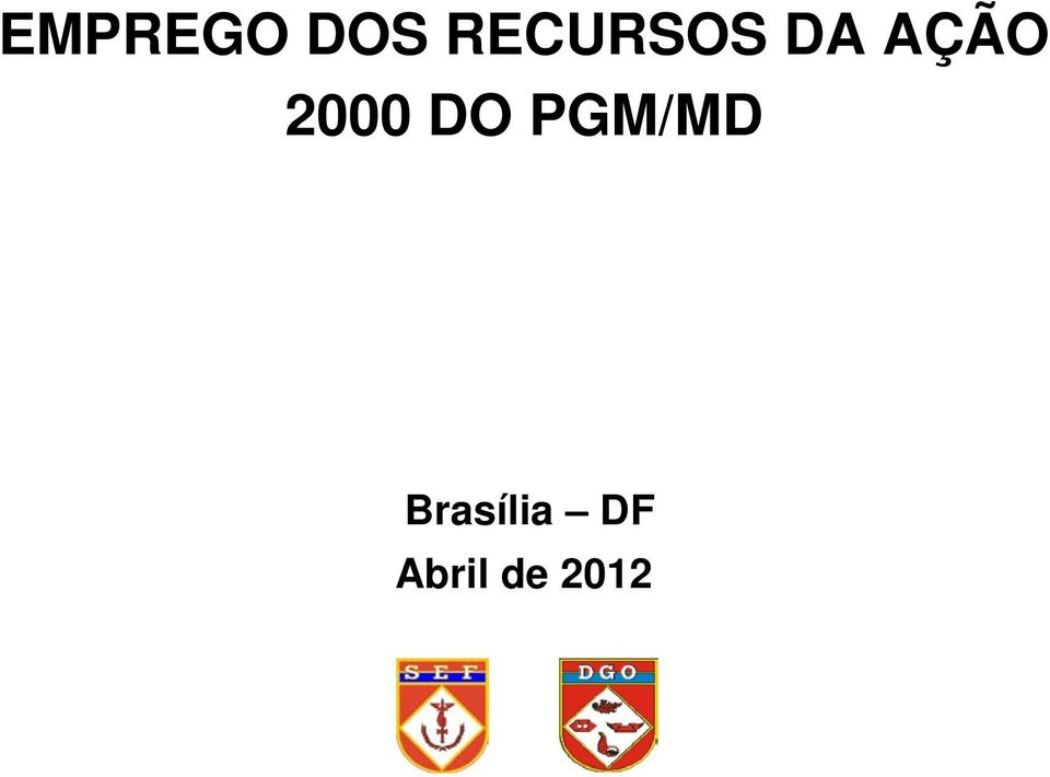 2000 DO PGM/MD