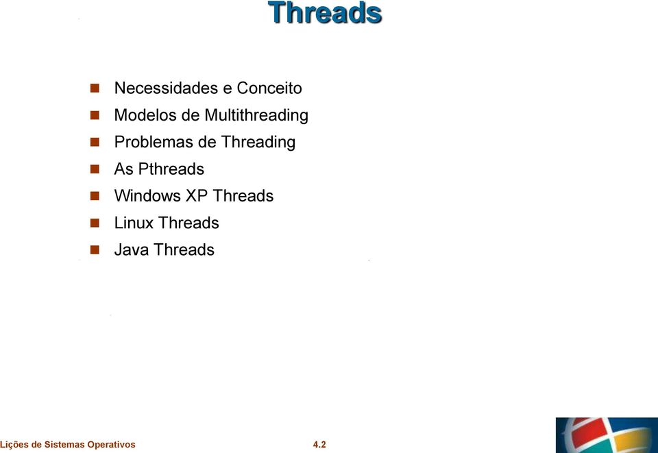 de Threading As Pthreads Windows XP