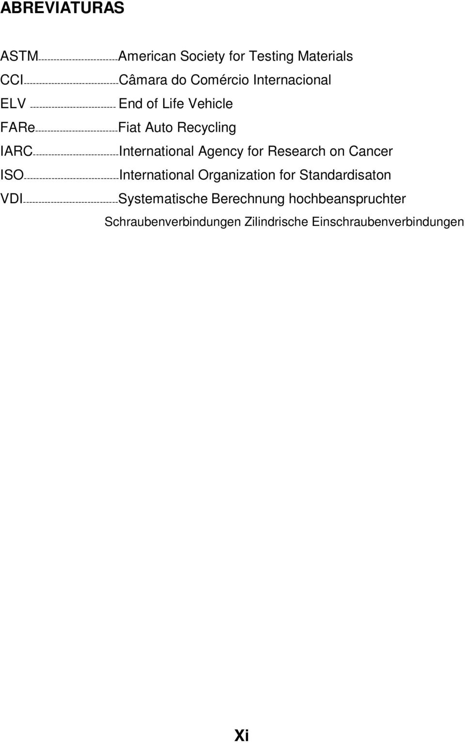 ---------------------------- International Agency for Research on Cancer ISO ------------------------------- International Organization for