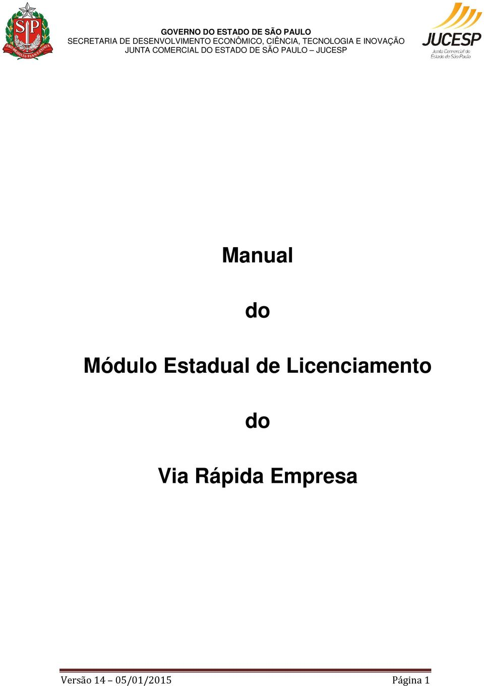 Licenciamento do Via