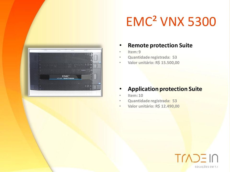 500,00 Application protection Suite Item: 10