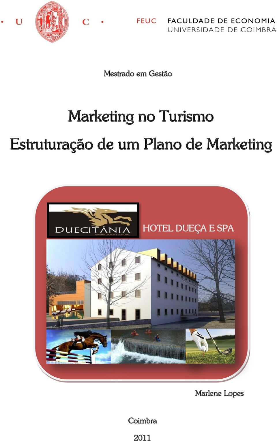 Plano de Marketing HOTEL DUEÇA
