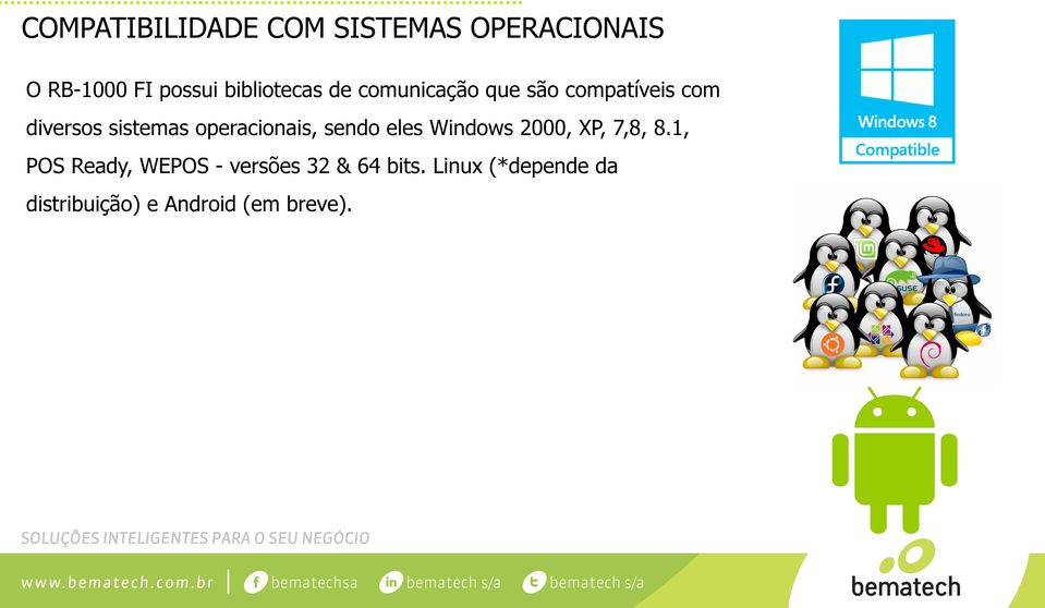 operacionais, sendo eles Windows 2000, XP, 7,8, 8.