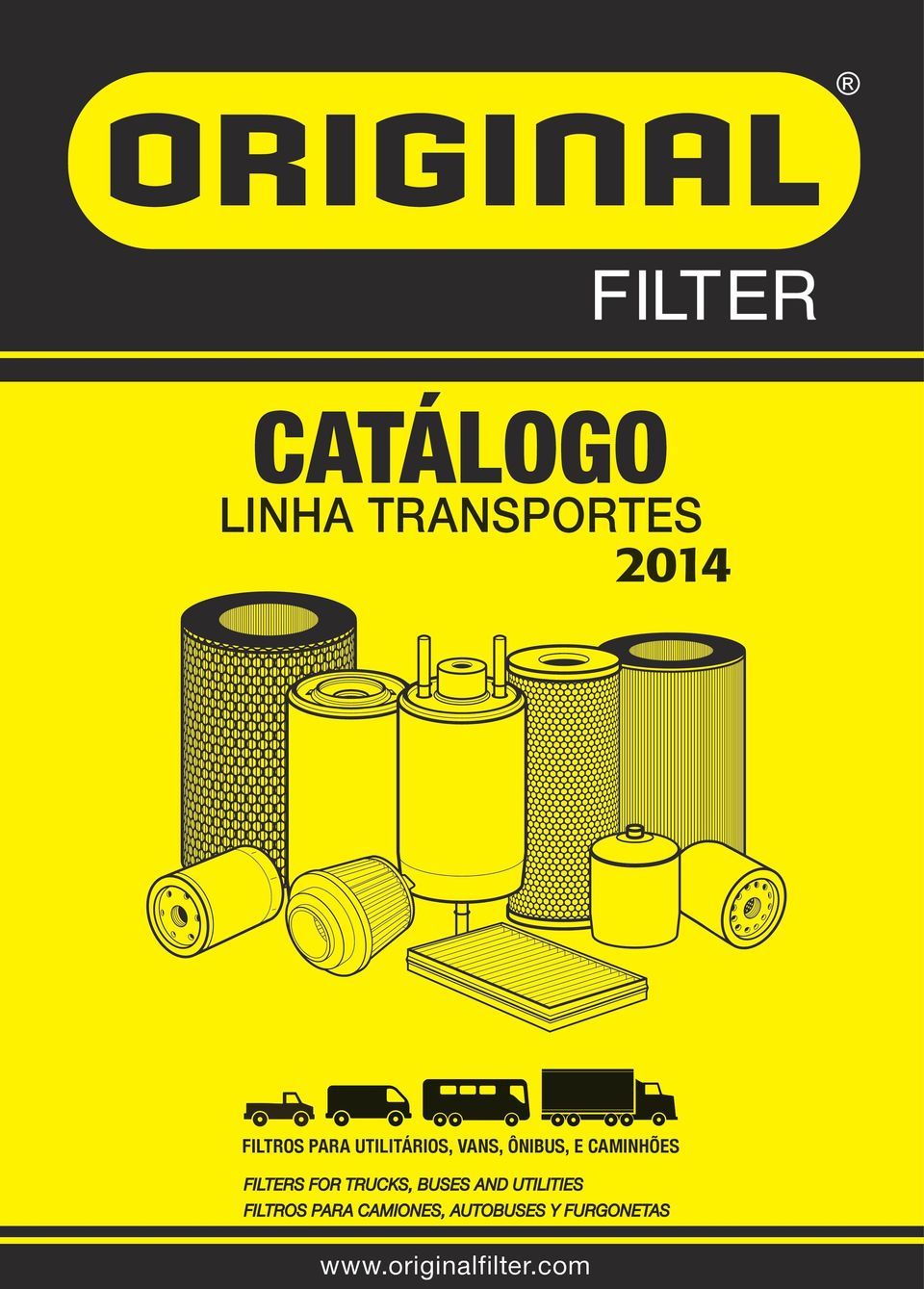 FILTERS FOR TRUCKS, BUSES AND UTILITIES FILTROS PARA