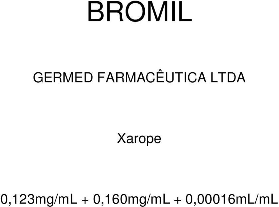 Xarope 0,123mg/mL +