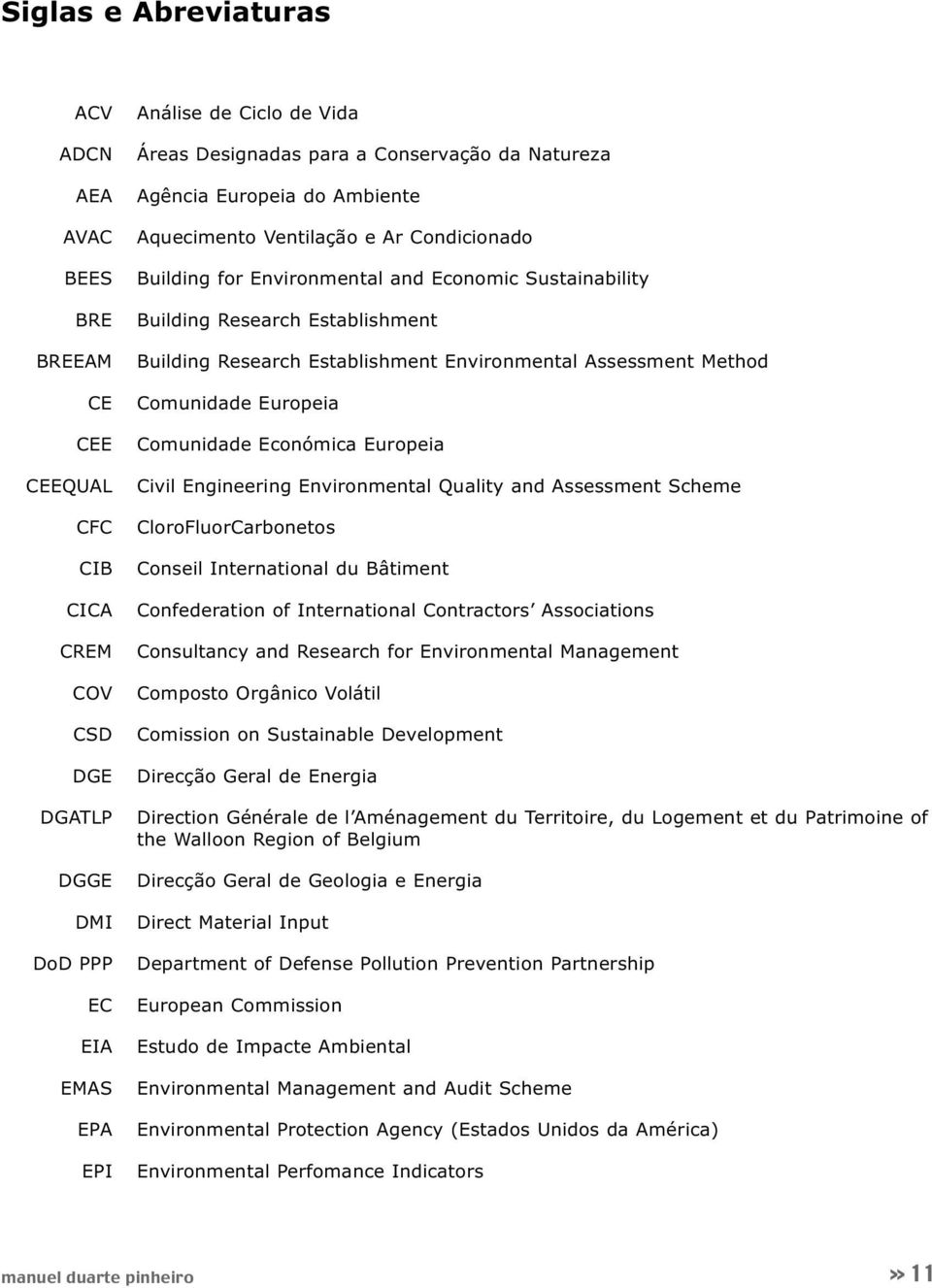 Establishment Environmental Assessment Method Comunidade Europeia Comunidade Económica Europeia Civil Engineering Environmental Quality and Assessment Scheme CloroFluorCarbonetos Conseil