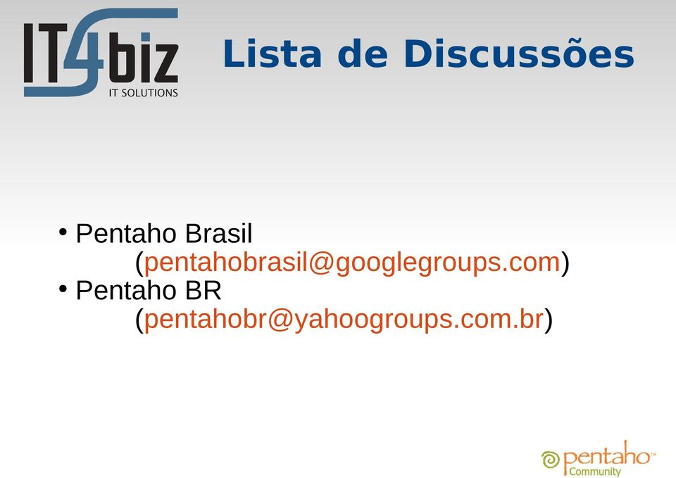 (pentahobrasil@googlegroups.