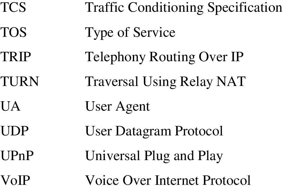Traversal Using Relay NAT User Agent User Datagram