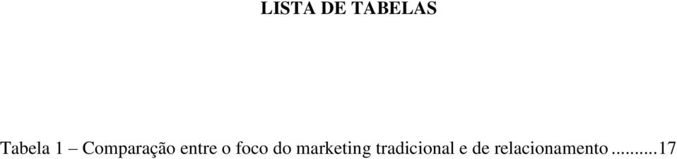 foco do marketing