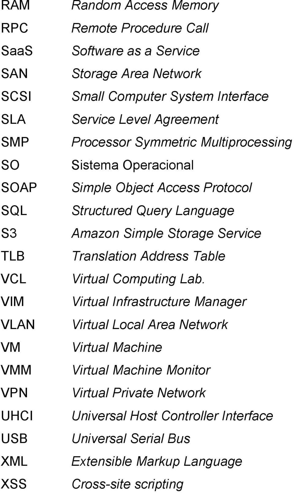 Structured Query Language Amazon Simple Storage Service Translation Address Table Virtual Computing Lab.