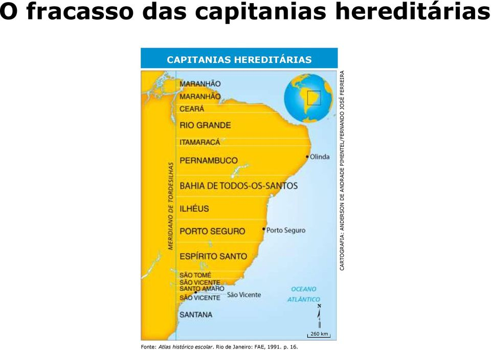 capitanias hereditárias CAPITANIAS HEREDITÁRIAS