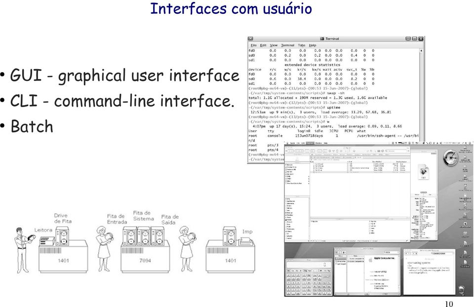 interface CLI -