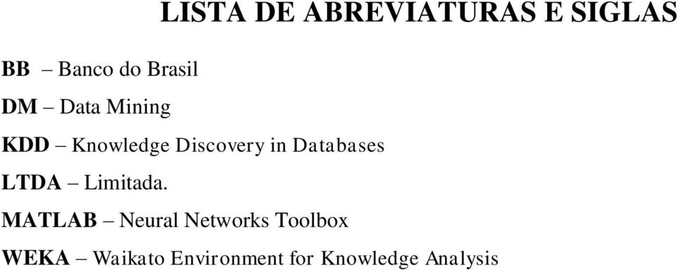 Databases LTDA Limitada.