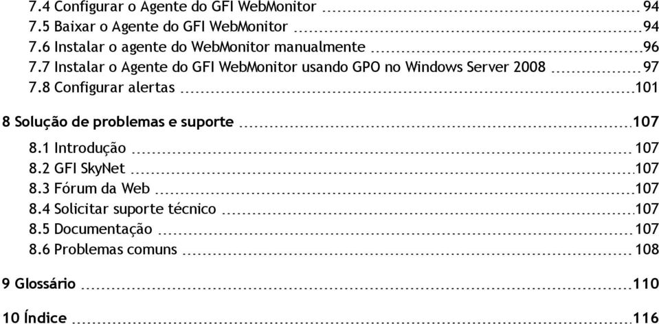 7 Instalar o Agente do GFI WebMonitor usando GPO no Windows Server 2008 97 7.