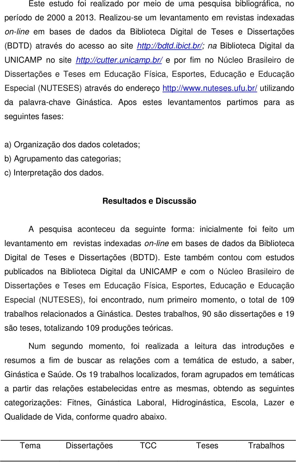 br/; na Biblioteca Digital da UNICAMP no site http://cutter.unicamp.