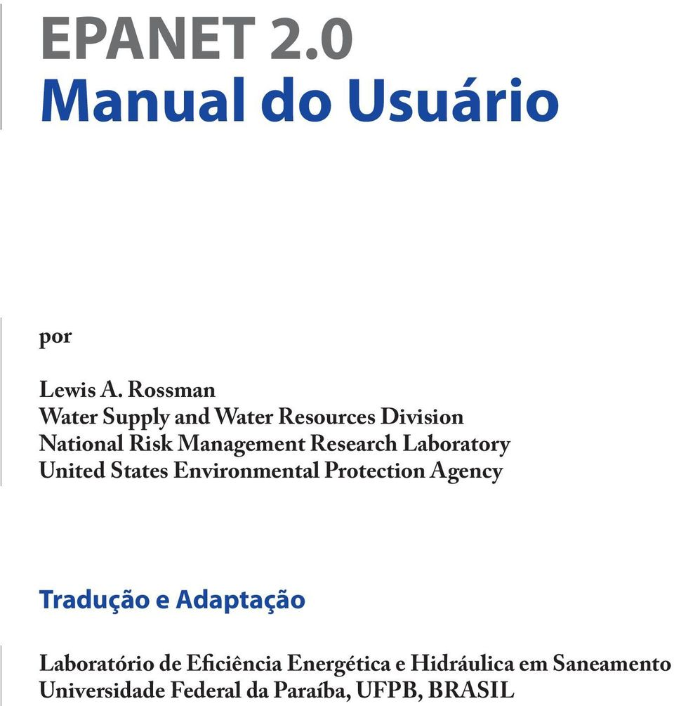 Research Laboratory United States Environmental Protection Agency Tradução e