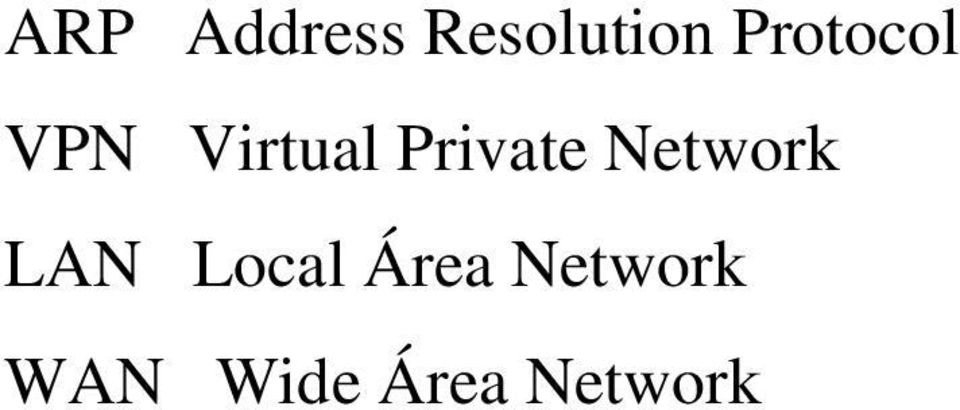 Private Network LAN Local