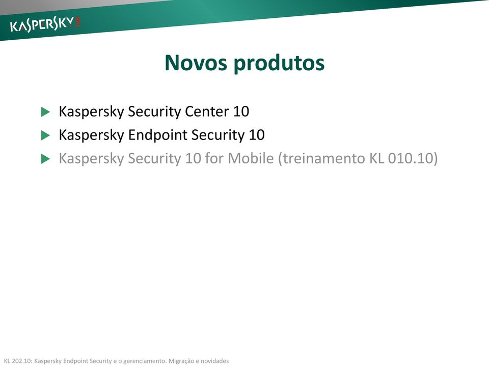 Endpoint Security 10 Kaspersky